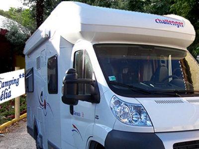 Location emplacements Camping Car Camping Amélia ** - Amélie les Bains