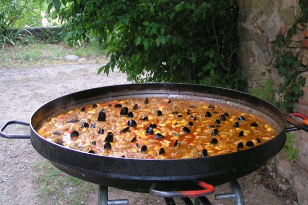 Paella- Camping Amélia ** - Amélie les Bains