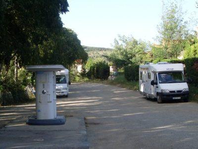 Aire du Camping Car - Amélie les Bains
