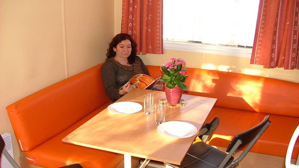 Location Mobilhomes Venus - Camping Amelia - Amélie les Bains