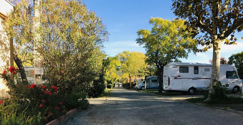 Emplacements camping-car - Camping Amélia