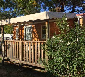 Mobil-home Venus 2 chambres - Camping Amélia**