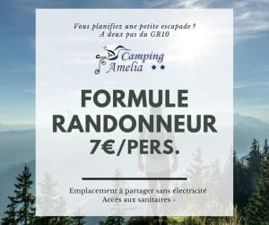 FORMULE RANDONNEUR AMELIA